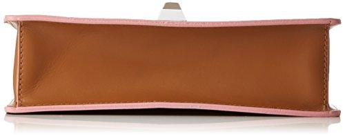Chicca Borse Damen 8705 Henkeltasche, 26x18x8 Cm Marrone (tan)