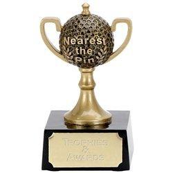 Golf4 Nearest The Pin Mini Cup Golf Trophy Award -