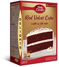 Betty Crocker Delight Red Velvet Cake Mix, 395g