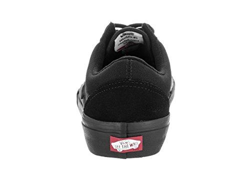 Chaussures Old Skool Pro Vans Pro Skate - Rouge Dark Noir