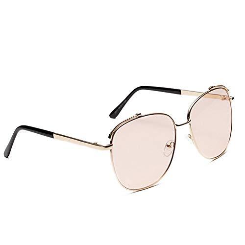 SUNNYJ Sonnenbrille Platz Pilot Sonnenbrillen Frauen/Männer Übergroße Retro Gradient Sonnenbrille Big Aviator Trendy Brillen Fahren Shades C3