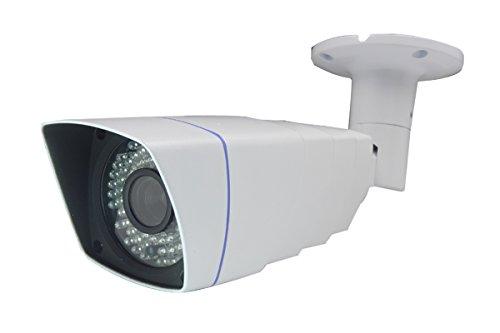 Hochauflösende und Wasserdichte POE IP-Kamera B7IV18-IP, Überwachung für Innen- und Außenbereich, mit Infrarot-Nachtsicht bis 50 Meter, IR LED, IP66, Spionage Kamera, SpyCam von Kobert-Goods