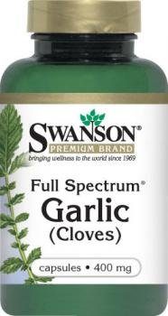 Swanson Full Spectrum Garlic (Cloves) (400mg, 60 Capsules) by Swanson Health Products