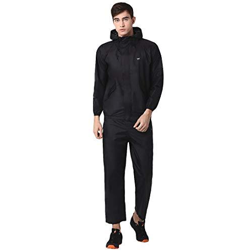 Wildcraft Hypadry Unisex Rain Cheater Suit E Plus (41310)-X_Large Black
