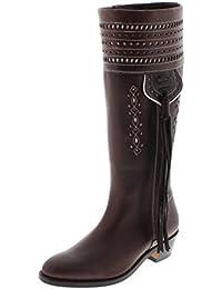 El Estribo 1018 - Botas de cuero para mujer marrón marrón