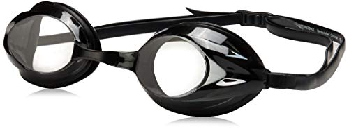 Speedo Vanquisher Optical Competition Swim Swimming Goggles Smoke Diopter -5.5