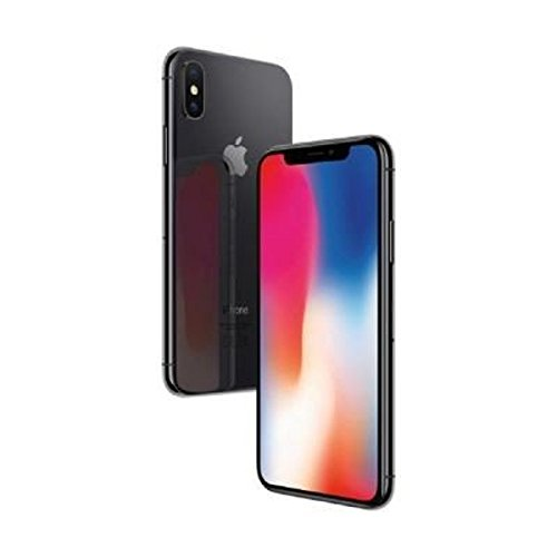 "Apple iPhone X Single SIM 4G 64GB Grey - smartphones (14.7 cm (5.8""), 64 GB, 12 MP, iOS, 11, Grey)"