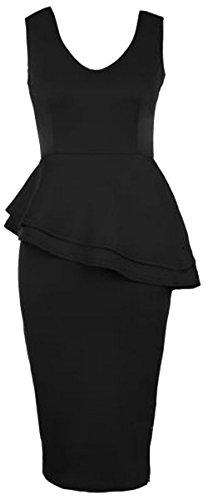 Generic Damen Kleid One size (für kleinere Personen) Schwarz