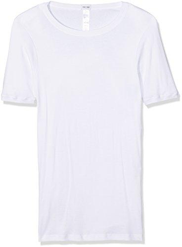 HOM Herren Unterhemd Cosy T-Shirt Crew Neck Tubulaire Weiß (Weiß)