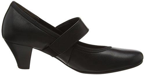 Gabor Shoes Basic, Scarpe con Tacco Donna Nero (Schwarz 27)