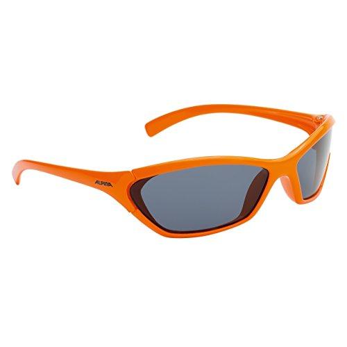 ALPINA Joven Gafas de Sol Line Chico, Naranja, a8158345