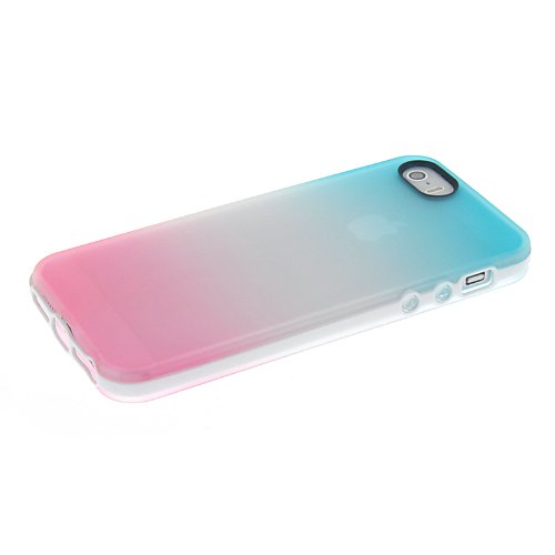MOONCASE TPU Silicone Housse Coque Etui Gel Case Cover Pour Apple iPhone 6 ( 4.7 inch ) Claire Vert A7271