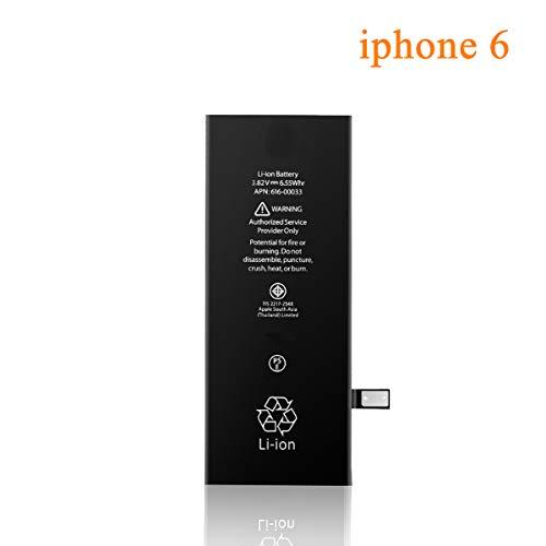 Akku für iPhone 6 2200mAH, recyco Ersatz tauschen Akku für iPhone 6 mit komplettem Repair Tool Kit Klebstoff - 2 Jahr Garanti
