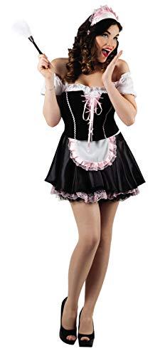 Boland M Sexy Zimmermädchen Dienstmädchen Putzfrau Putze Kostüm Maid Halloween (Dienstmädchen Kostüm Halloween)
