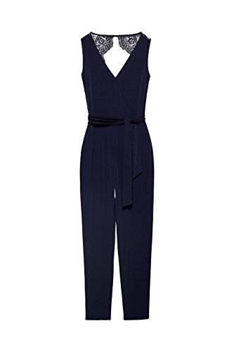 ESPRIT Collection Damen Slim Jumpsuit 058EO1L001, Blau (Navy 400),  (Herstellergröße: X-Small) - 3