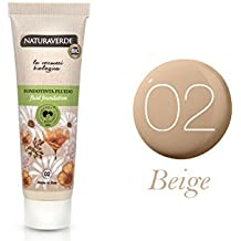 naturaleza Verde NV Bio Base de maquillaje Fluido EFF.
