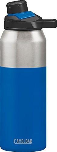 e CHUTE Mag Vakuum Edelstahl isoliertechnologie Wasser Flasche, blau (Cobalt), 32oz ()