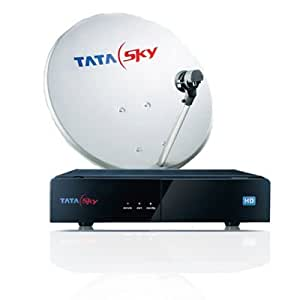 Tata Sky HD Set Top Box with 1 month Metro Pack HD FREE