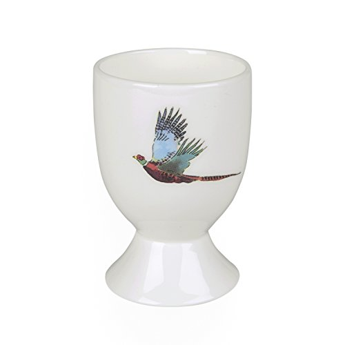 Sophie Willard Allport Coquetier en porcelaine anglaise - Faisan