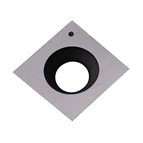 RTing 15mm Quadrat Gerade Carbide Schneideinsatz für Holz Schneidwerkzeuge, Packung mit 10, für Spiral/Helical Hobel Schneidkopf