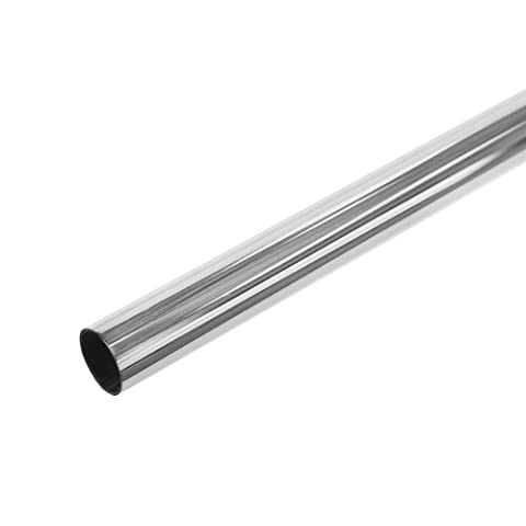Chrome Plated Metal Tube - 25mm Diameter, Choice of Length
