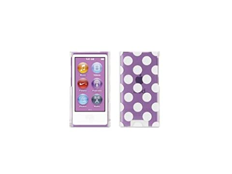 Griffin RE35938 Technology Coque pour iPod Nano 7e génération Noir blanc transparent