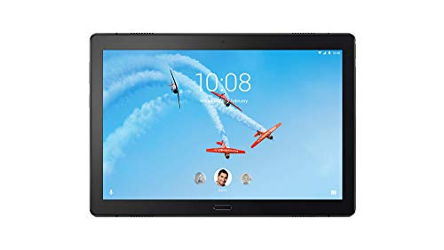 Lenovo Tab P10 25,5 cm (10,1 Zoll Full HD IPS Touch) Tablet-PC (Qualcomm Snapdragon 450 Octa-Core, 4GB RAM, 64GB eMCP, Wi-Fi, Android 8.1) schwarz