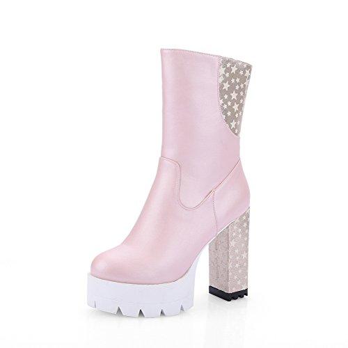 A&N ,  Damen Chukka Boots , rosa - rose - Größe: 37 (Saints All Frauen Boots)