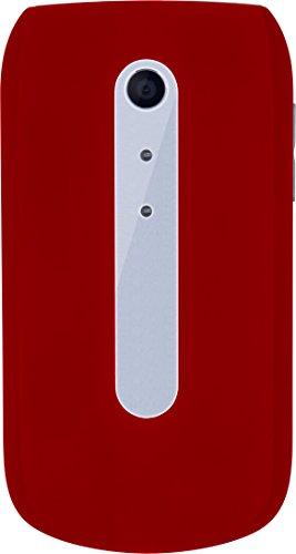 "Image of Beafon Handy im Klappdesign ""SL630"" (Bluetooth) Rot/Silber"