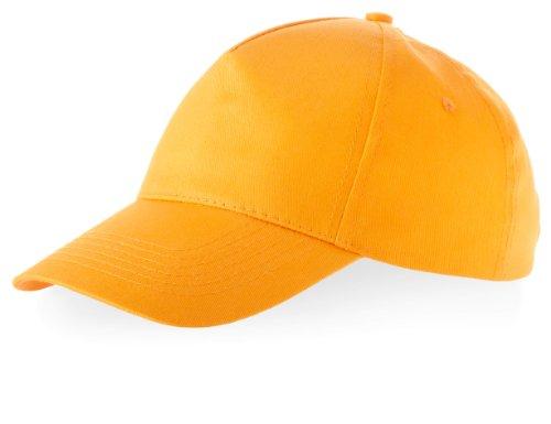Kinder Baseball Cap 'Euro' = 100% Baumwolle im 13 Farben (Orange) (Tote 100% Baumwolle Bag)