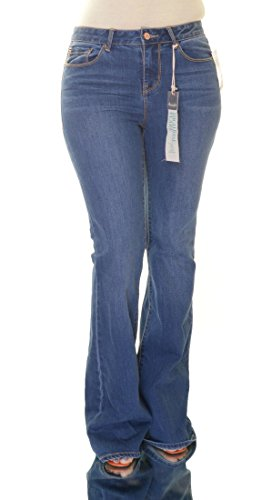Juniors High-Rise Flare Jeans 5 Ursula Wash (Jeans Juniors Flare)