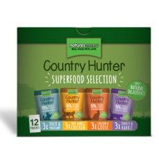 Country Hunter Superfood Selection Cat Pouches, Pack of 12