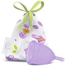 LadyCup Berührung des Lavendels L(arge) Menstruationstasse groß -033