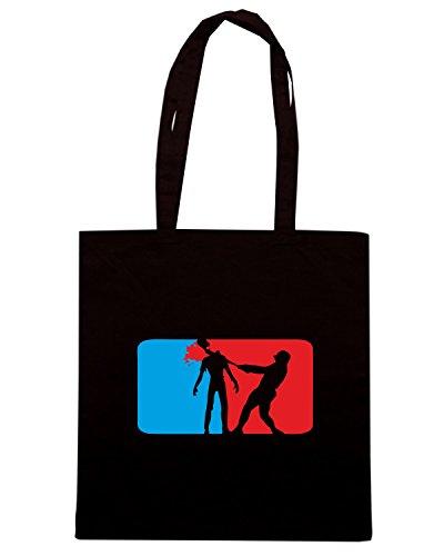 T-Shirtshock - Borsa Shopping TZOM0045 major league zombie light Nero