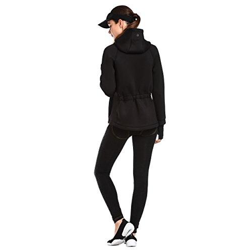 Zoom IMG-2 freddy diwocurve felpa donna nero