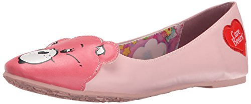 iron-fist-carebears-stare-flat-ballerines-fermees-femmes-rose-rose-36-eu