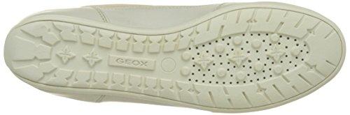 Geox D New Moena D, Sneakers Basses Femme Beige (Skin/Off Whitec8116)