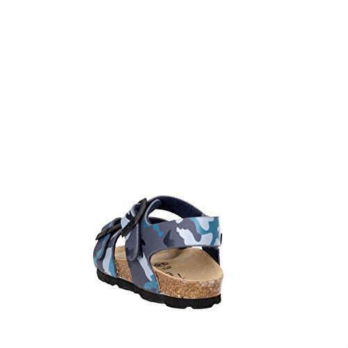Grunland SB0911-40 Sandale Garçon MILITARE-BLU