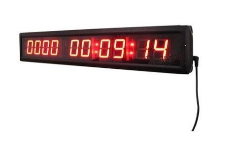 "Godrelish Große rote Farbe 1.8 ""High Charakter LED-Digital-Wand-Tage-Countdown-Uhr für Indoor"