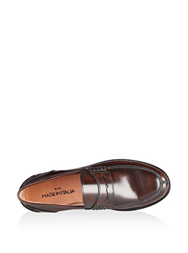 Made in Italia Shoes, flâneurs homme Marron