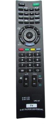 Indiashopers LCD/LED Compatible For SONY Bravia Universal LCD/LED URC-67 Remote Controller  available at amazon for Rs.328