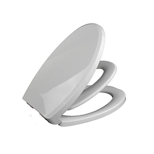 JKYQ Weißes pp.-Haushalts-Kind/Erwachsener Doppelnutzung U-Art Toilettendeckel Dämpfungspuffer-Badezimmerabdeckung haltbar für Hotel-Säuglingsraum - Hotel Wc Papierhalter