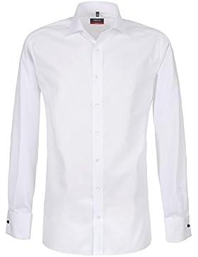Eterna Herren Hemd Modern Fit Umschlagmanschette weiß, Größe 39