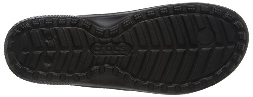 Crocs Classic, Tongs - Mixte adulte Noir (Black)
