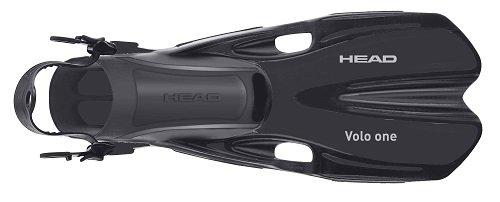 HEAD Mares Volo One verstellbar Schnorcheln Flossen, schwarz, Small