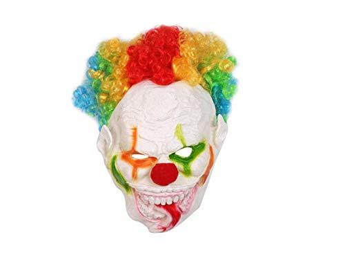 Beauty Kostüm Queen Machen - Mas Querade Halloween Party Großen Mund Lange Zunge Clown Form Maske Lustige Gesichtsmaske Cosplay Party Kostüm Requisiten Schreckliche Leistung Maske Partei Liefert,A,A