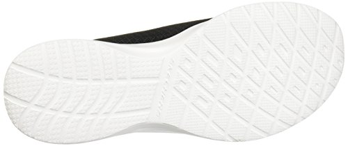 Skechers Dynamight Womens Slip sulle scarpe da ginnastica Nero / Bianco Black/White