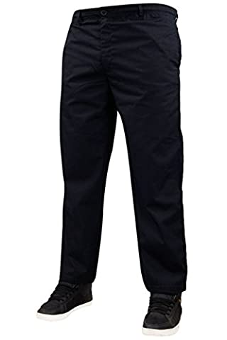 Mens Hutson Harbour Rugby Plain Trousers Navy M-29