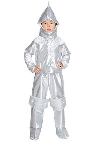 KinJungen Zauberer von Oz Halloween Sensations Tin Man Cosplay Kostüm M