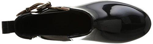 Tommy Hilfiger Oxley 2z, Bottes Pluie Cheville Femme Noir (BLACK 990)
